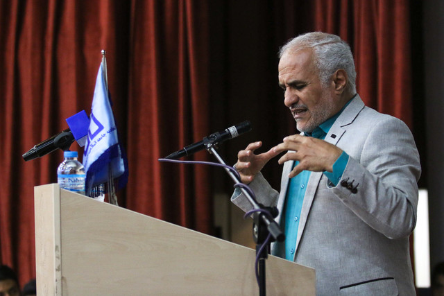 سخنرانی حسن عباسی در دانشگاه صنعتی اصفهان