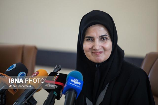 نشست خبری لعیا جنیدی، معاون حقوقی رئیس جمهور