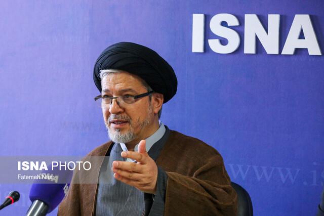 بازدید عاملی دبیر شورای عالی انقلاب فرهنگی از خبرگزاری ایسنا