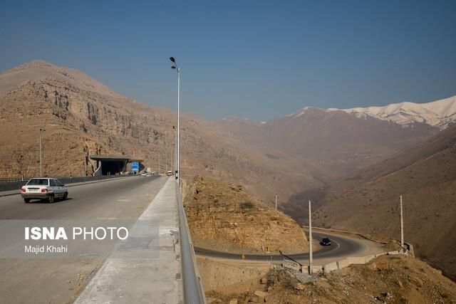 بازدید از احداث آزاد راه تهران شمال