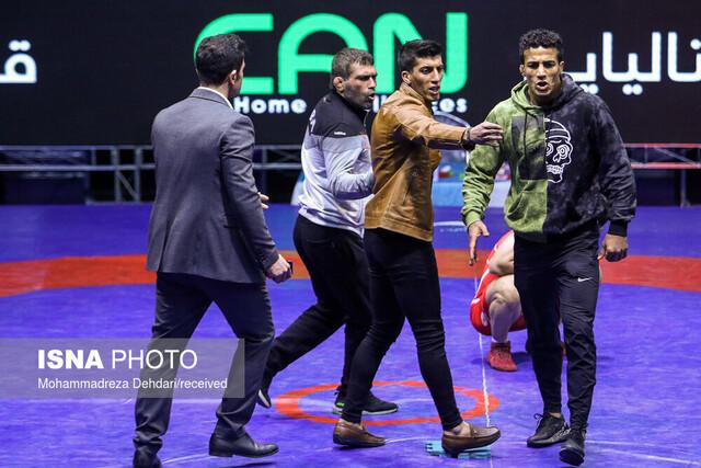 چهلمین دوره رقابت های بین المللی کشتی فرنگی جام تختی- شیراز