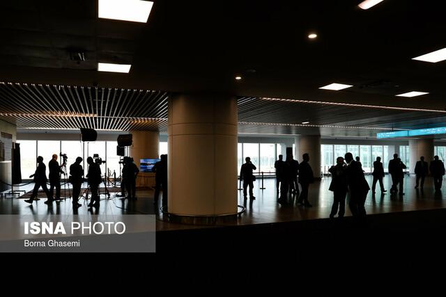 افتتاح ترمینال «سلام» فرودگاه امام (ره) با حضور رئیسجمهور