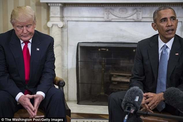 ترامپ: اگر جایم با اوباما عوض میشد از او نمیخواستم استعفا دهد